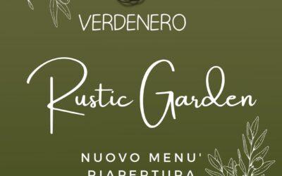 Menù Rustic Garden